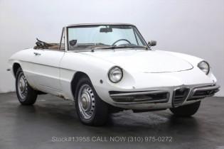 1966 Alfa-Romeo Giulia-Spider-Duetto Sold   Ad Id 2146365474