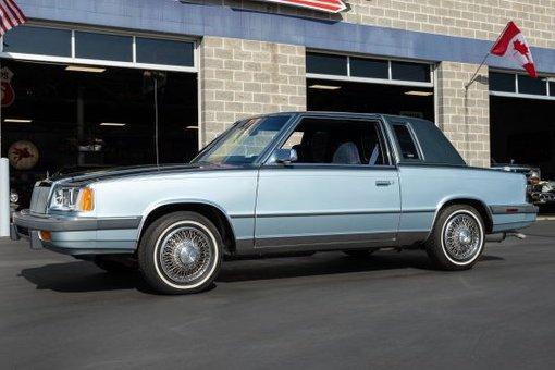 1986 Chrysler Lebaron For Sale   Vintage Driving Machines