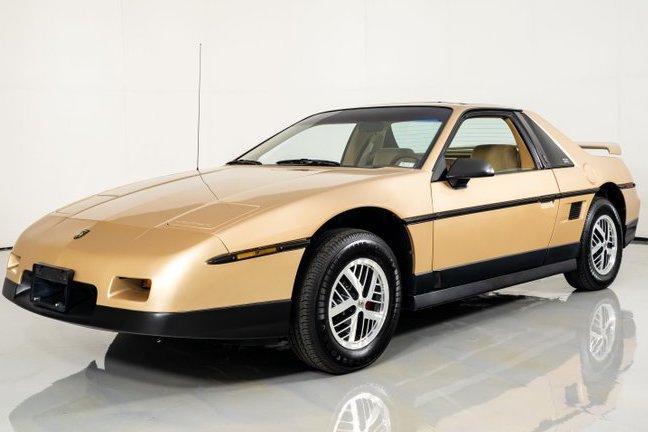 1986 Pontiac Fiero For Sale   Vintage Driving Machines
