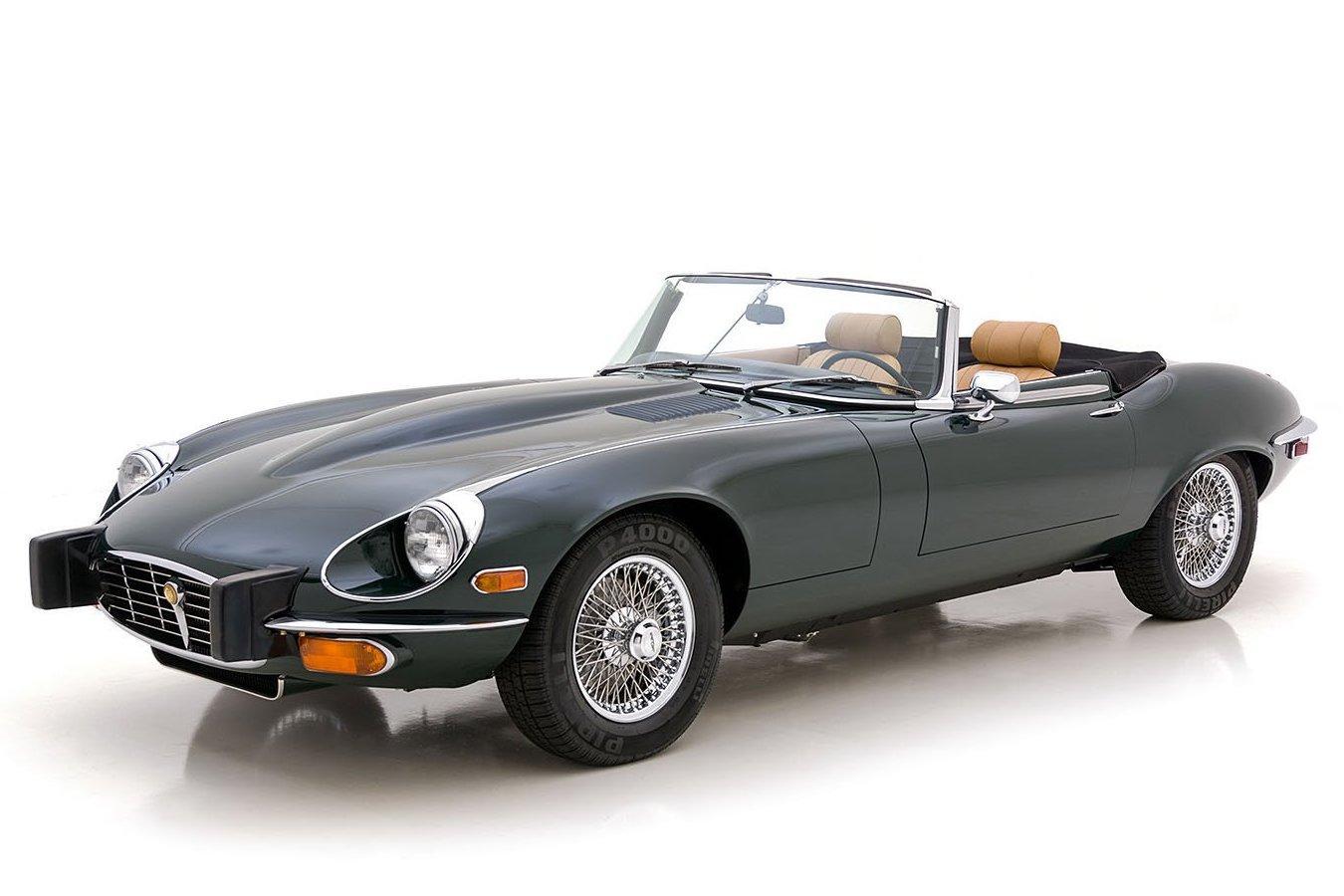 1974 Jaguar E-Type For Sale   Vintage Driving Machines