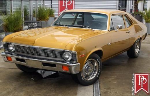 1972 Chevrolet Nova For Sale | Vintage Driving Machines