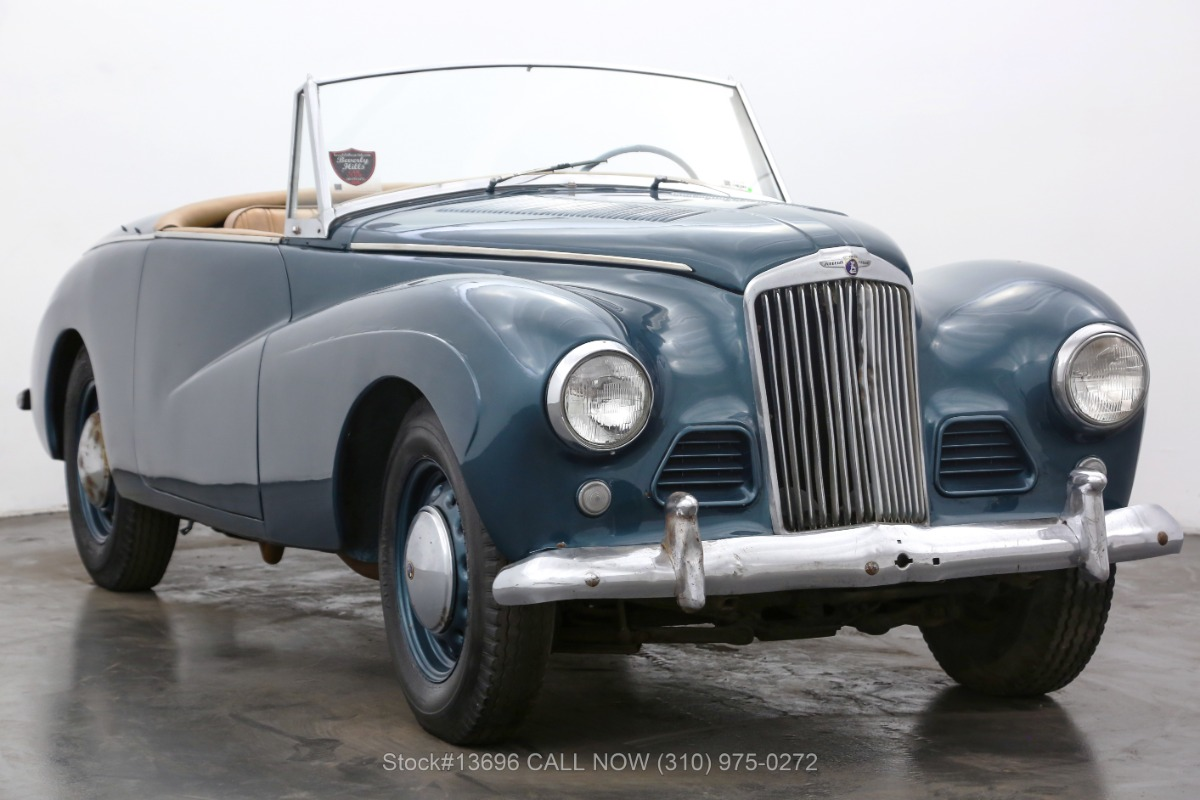 1954 Sunbeam Talbot Roadster For Sale | Vintage Driving Machines