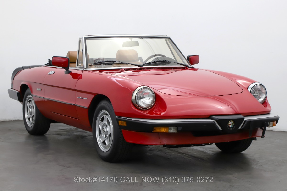 1989 Alfa Romeo Spider Veloce For Sale | Vintage Driving Machines