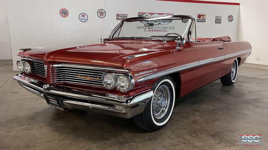 1962 Pontiac Bonneville For Sale   Vintage Driving Machines