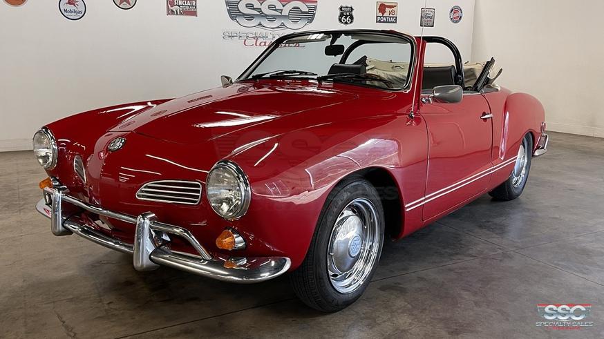 1968 Volkswagen Karmann Ghia For Sale   Vintage Driving Machines