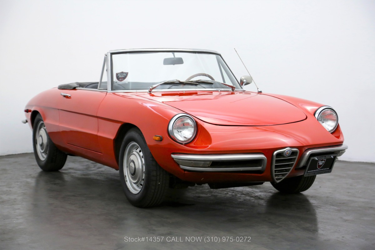 1969 Alfa Romeo 1750 Spider Veloce For Sale | Vintage Driving Machines