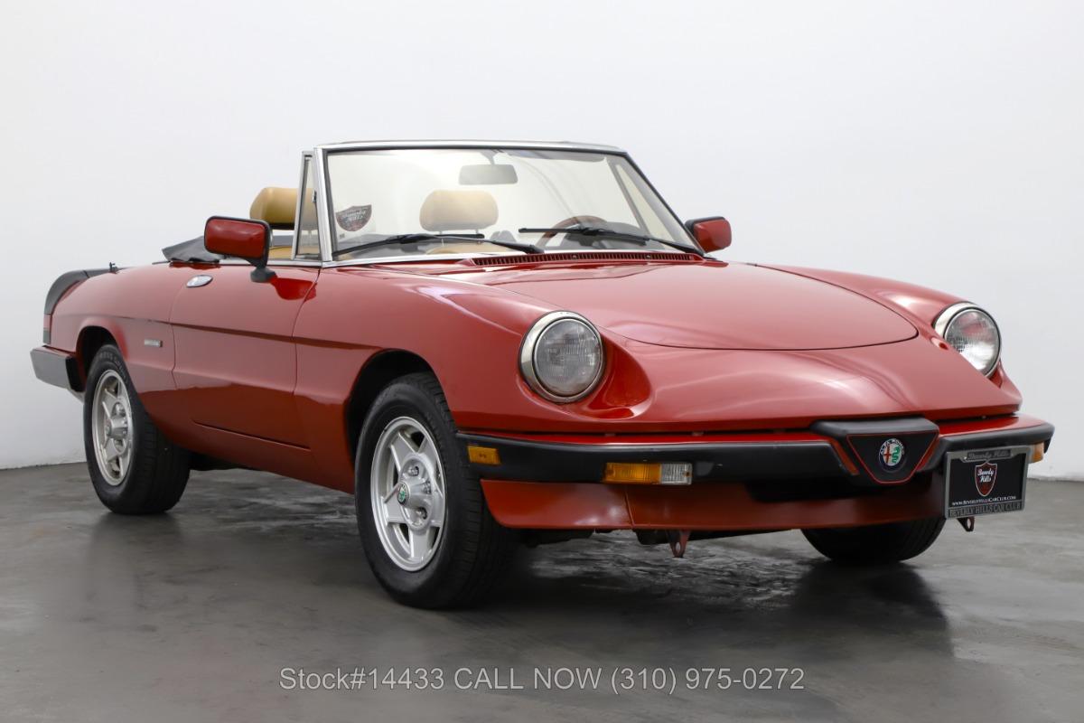 1989 Alfa Romeo Spider Graduate For Sale | Vintage Driving Machines
