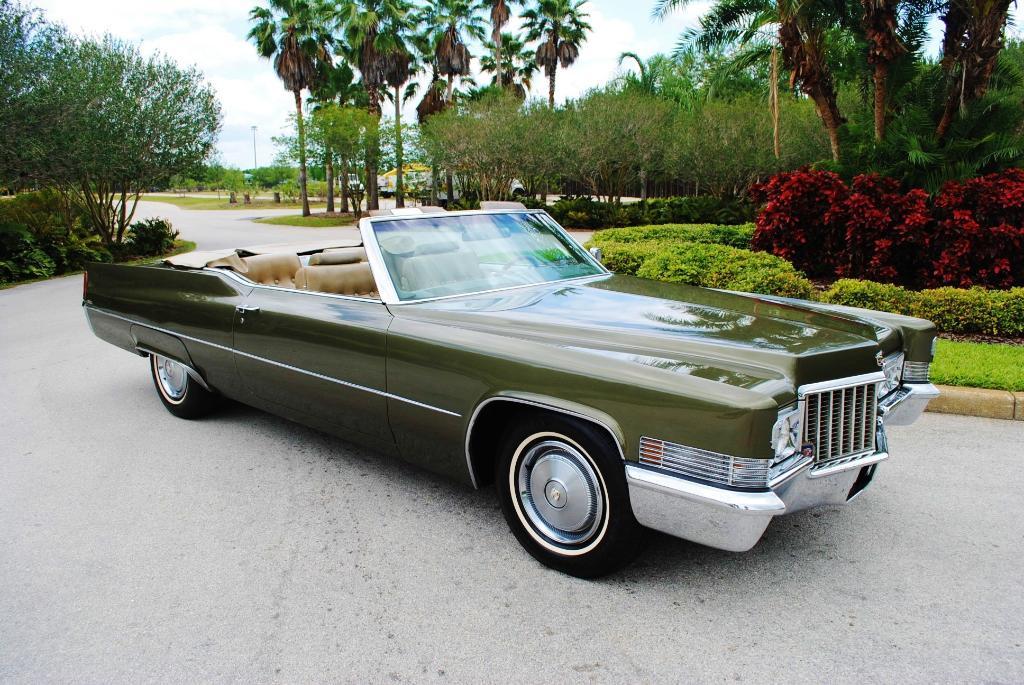 1969-70 Cadillac DeVille Convertible